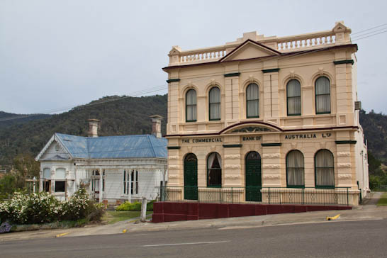 Commercial Bank of Australia in Omeo