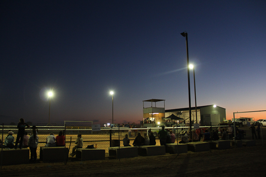 Rodeogrounds in Birdsville