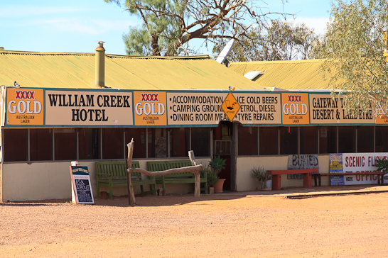 Das William Creek Hotel