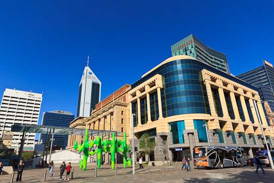 Der Forrest Place in Perth