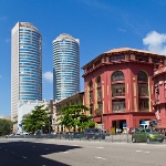 Cargills & Millers und Twin Towers in Colombo